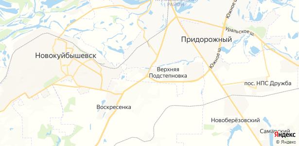 Подстепновка на карте
