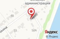 Схема проезда до компании Почтовое отделение в Рождествене