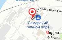 Схема проезда до компании Самком в Самаре