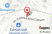 Схема проезда до компании В Плюс В в Самаре