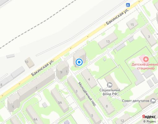 Товарищество собственников жилья «Кряжское» на карте Самары