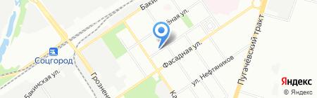 Русский стиль на карте Самары