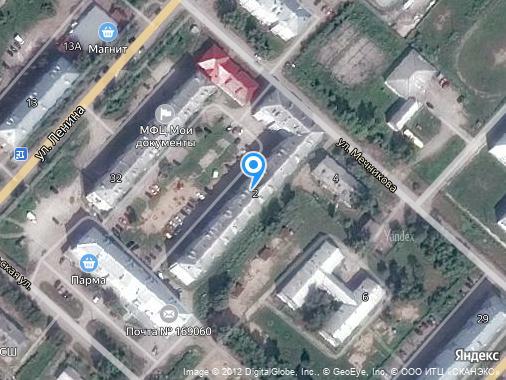 Продается 2-комнатная квартира, 56 м², Микунь, улица Мечникова, 2