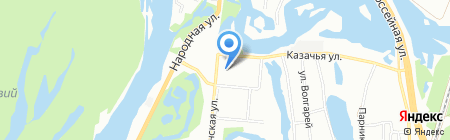 Арго на карте Самары