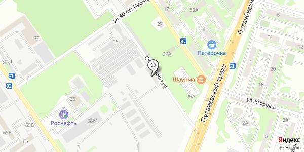 Диаскан. Схема проезда в Самаре