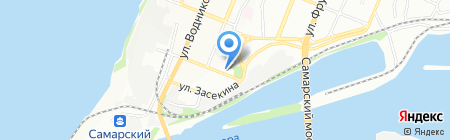 Барро на карте Самары