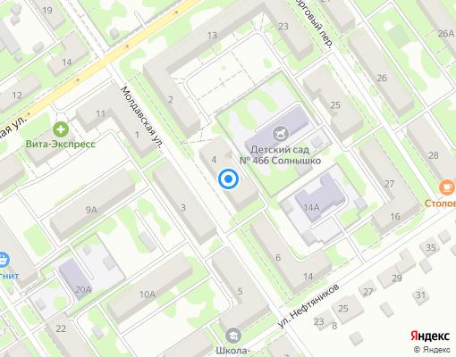Управляющая компания «Куйбышевский ПЖРТ» на карте Самары