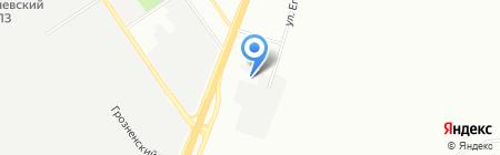 Автоматические ворота на карте Самары