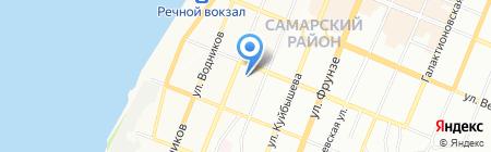 Детский сад №55 на карте Самары