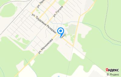 Местоположение на карте пункта техосмотра по адресу Респ Коми, Усть-Вымский р-н, г Микунь, ул Трудовые Резервы, д 68А
