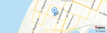 Бин на карте Самары