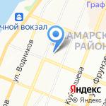 Управление ФСБ по Самарской области на карте Самары