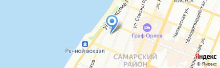 Окта-тур на карте Самары
