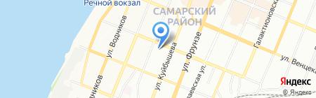Изолятор временного содержания на карте Самары