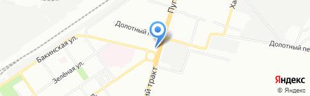 Ястреб на карте Самары