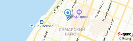 Шард на карте Самары
