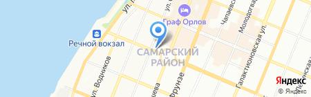 Ривал на карте Самары