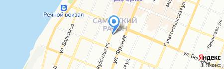 ГАРТ на карте Самары