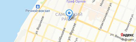 Ажур на карте Самары