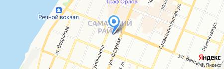 Натали на карте Самары