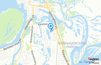 Местоположение на карте пункта техосмотра по адресу г Самара, ул Парниковая, д 27А