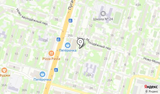 Нико. Схема проезда в Самаре