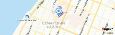 Самара Центр на карте Самары