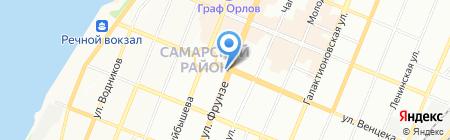 Лота на карте Самары