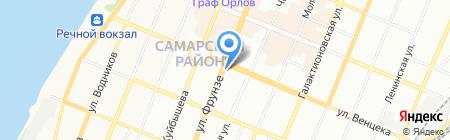 Банкомат Хоум Кредит энд Финанс Банк на карте Самары
