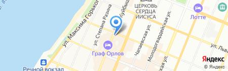 Евангелическо-лютеранская община Святого Георга на карте Самары