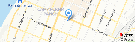 Знак-С на карте Самары