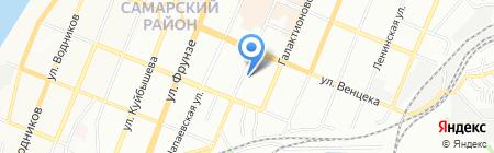 Самарский центр технического обслуживания на карте Самары
