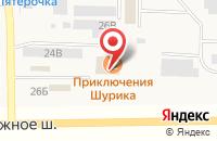 Схема проезда до компании Славянский деликатес в Подстепновке