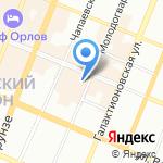Самарский техникум кулинарного искусства на карте Самары