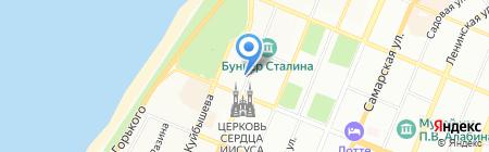 EVkvadrat на карте Самары