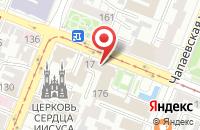 Схема проезда до компании Российский Фонд Архитектурного Наследия Имени Андрея Рублева в Самаре