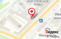 Схема проезда до компании Монитор в Волжском