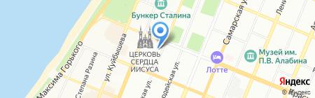 Самарская гильдия строителей на карте Самары