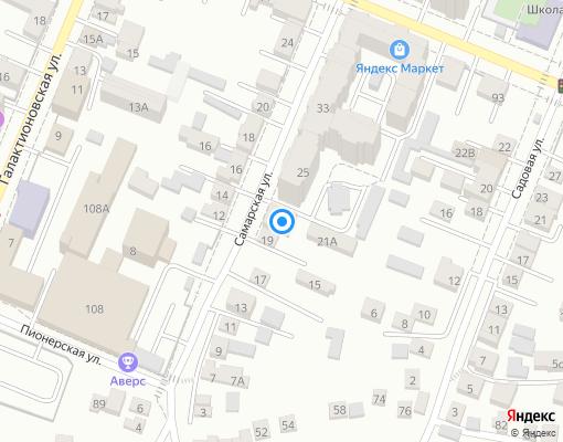 Товарищество собственников жилья «Партнер-19» на карте Самары
