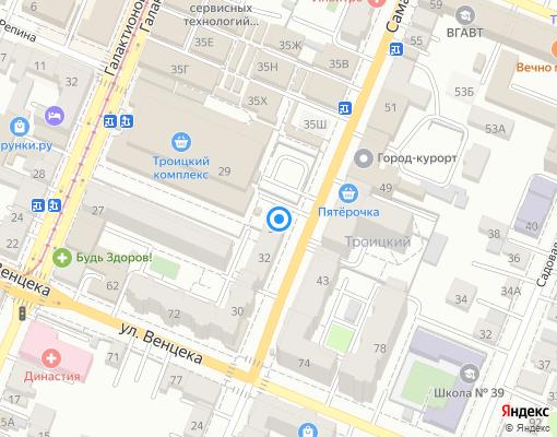 Управляющая компания «Жилсервис» на карте Самары