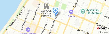 Волгаметалл на карте Самары