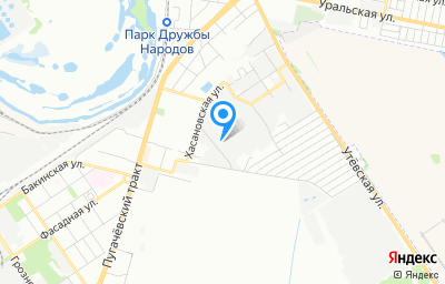 Местоположение на карте пункта техосмотра по адресу г Самара, проезд Гаражный, д 6