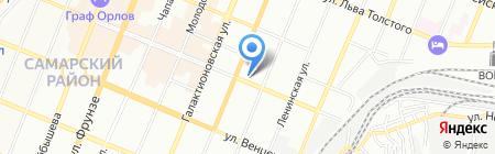 Детский сад №49 на карте Самары