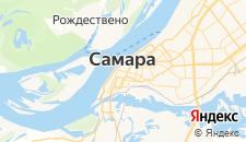 Гостиницы города Самара на карте