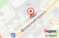 Схема проезда до компании Волга-Медиа в Волжском