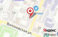 Схема проезда до компании Волга Декор в Самаре