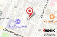 Схема проезда до компании Авангард в Ильинском