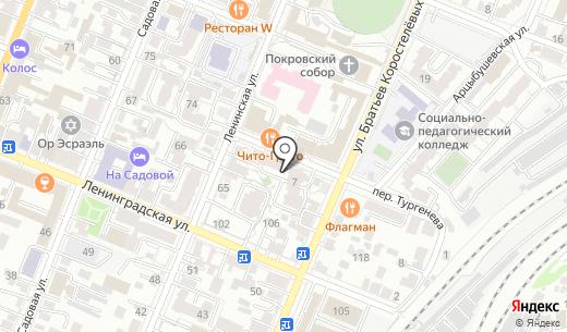 ФУТМАСТЕР ГРУП. Схема проезда в Самаре