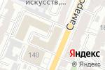 Схема проезда до компании Универсал-Аудит в Самаре