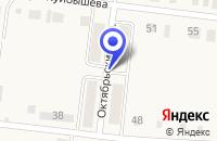 Схема проезда до компании БАНЯ ЛАГУНА в Алексеевском